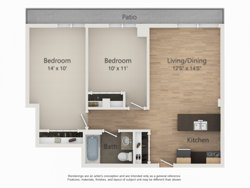 The Embassy Orosz Properties Downtown Campus And East Side - 14 x 11 bedroom design
